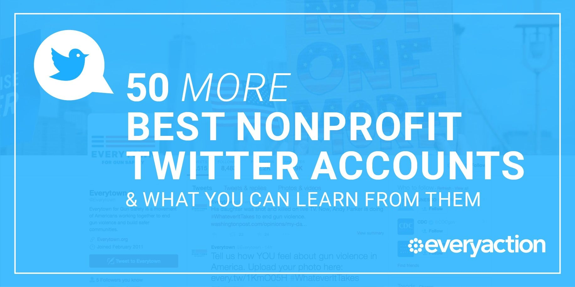 50 More Of The Best Nonprofit Twitter Accounts To Follow Right Now Twitter Accounts To Follow Social Media Accounting