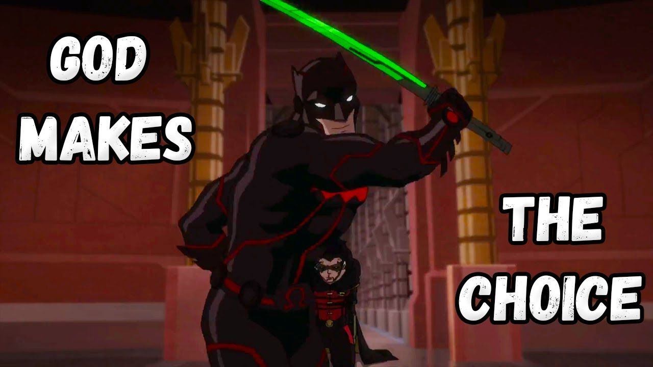 Choice Of God Justice League Dark Apokolips War Youtube Justice League Dark Justice League League