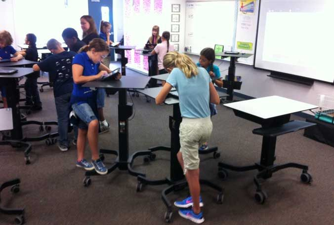 A fourth graders take on standing desks When youre sitting
