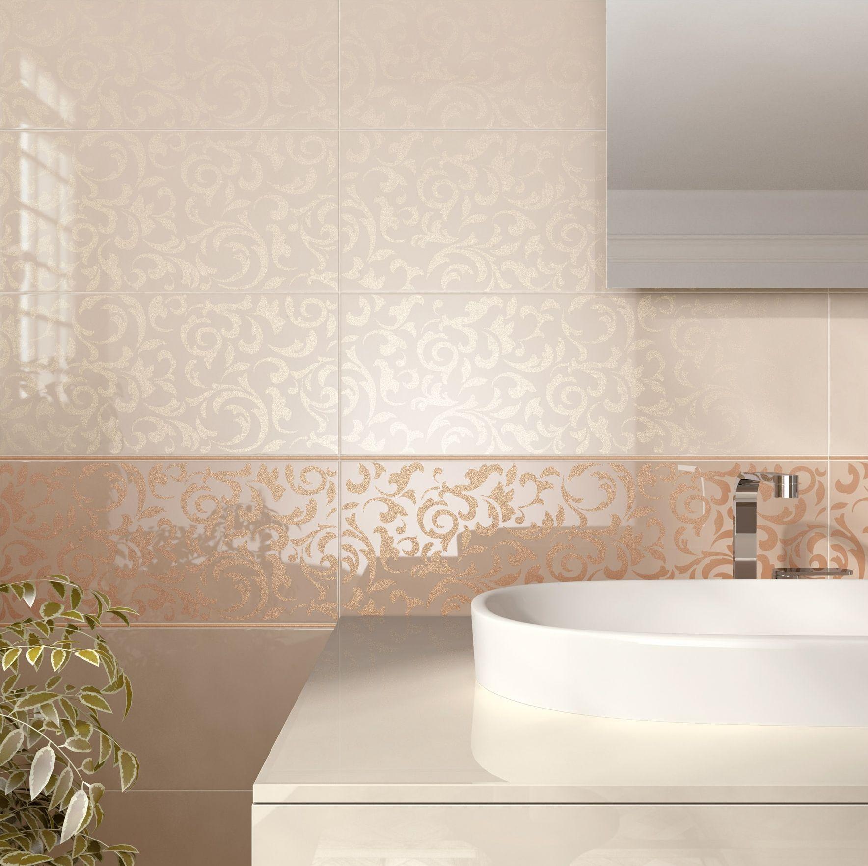 Piastrelle bagno con greca good piastrelle adesive bagno ikea con adesivi c per parete o - Piastrelle bagno damascate ...