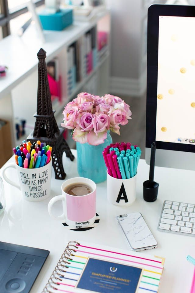 Stylish Diy Desk Accessories 1000 Ideas About Desk Decorations On