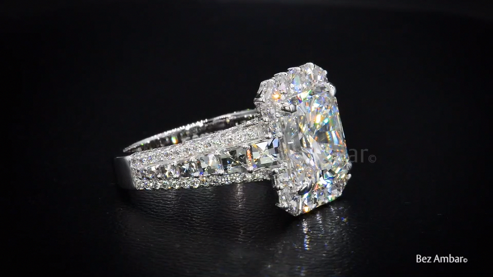 Immaculate Diamond Engagement Ring from Bez Ambar -  A stunning diamond engagement ring by master jewelry designer, Bez Ambar. At Bez Ambar, our designs - #ambar #beautifuljewelry #Bez #diamond #engagement #immaculate #jewelrypackage #jewelryrings #ring #turquoisejewelry #unusualweddingrings
