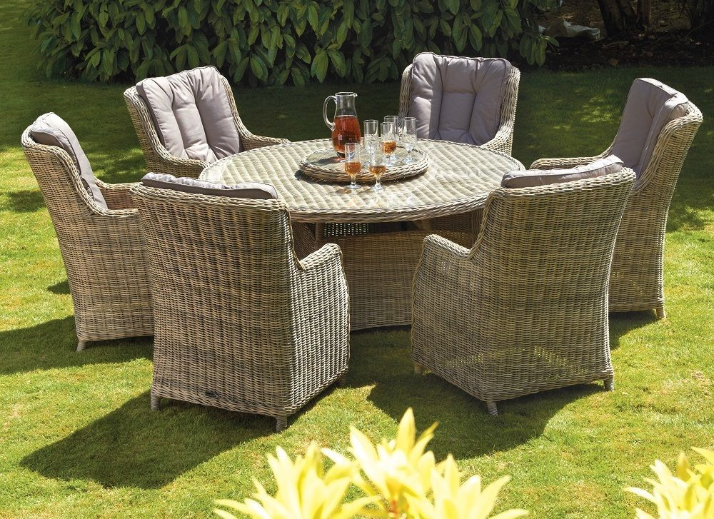 Garden Furniture Set Dining Table Chairs Patio Terrace Coutryard ...
