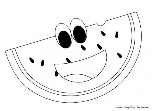Frutta Cocomero Yerli̇ Mali Haftasi Moldes Dibujos E Patchwork