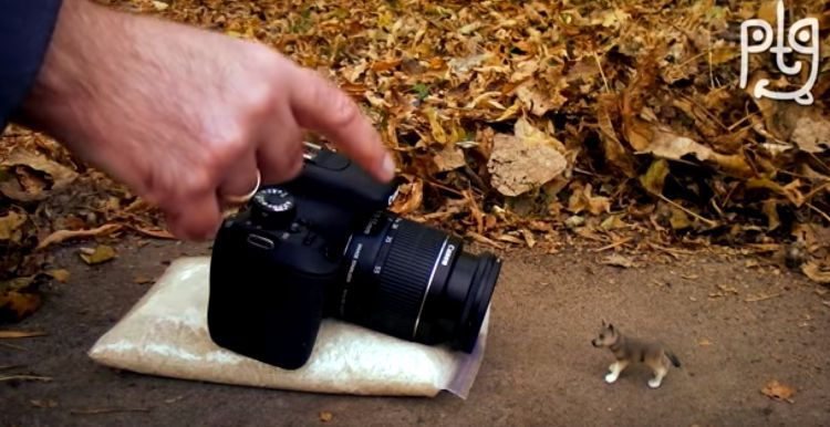 A Whole New Way Of Doing Photography >> Drill A Hole In A Frying Pan To Use Your Camera In A Whole New Way
