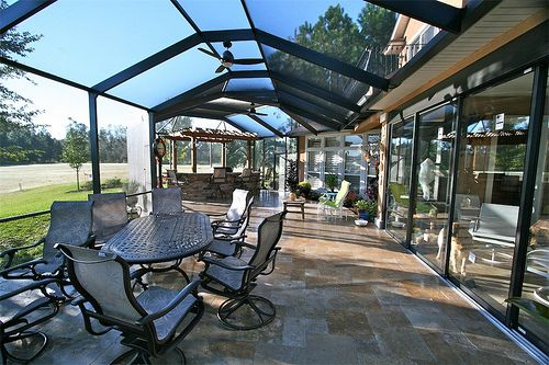 Screen Enclosure Patio Remodel Outdoor Renovation Backyard Patio Designs