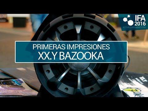 XX.Y Bazooka y Bazooka Twist, unos altavoces para llevarte la música a cualquier parte - http://www.actualidadgadget.com/xx-y-bazooka-y-bazooka-twist/