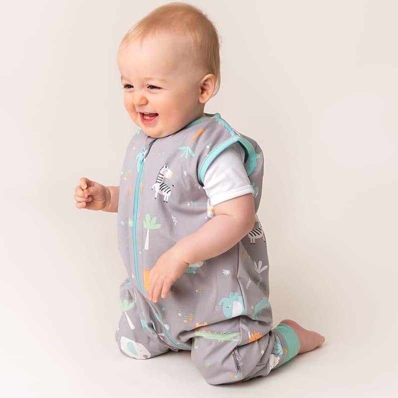 to last week when Jack modelled for the Slumbersac summer sleeping bag range. > -