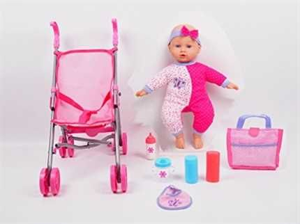 25++ Baby doll with stroller set ideas