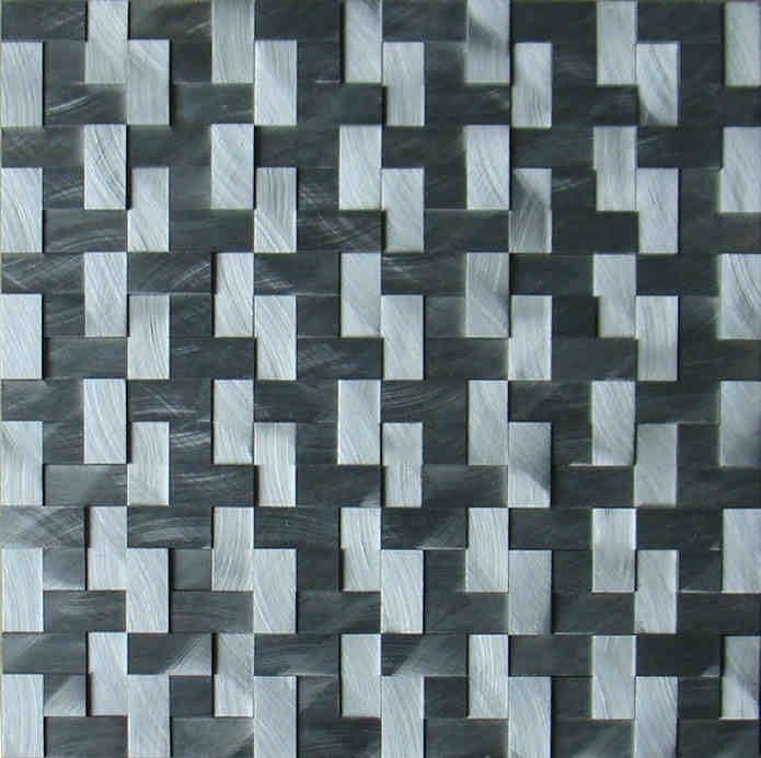 silver 3D Aluminum alloy metal mosaic tiles EHM1059 for kitchen baclesksplash bathroom floor wall mosaic free shipping-in Mosaics from Home Improvement on Aliexpress.com | Alibaba Group
