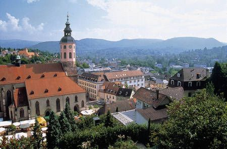 Baden Baden Germany Points Of Interest