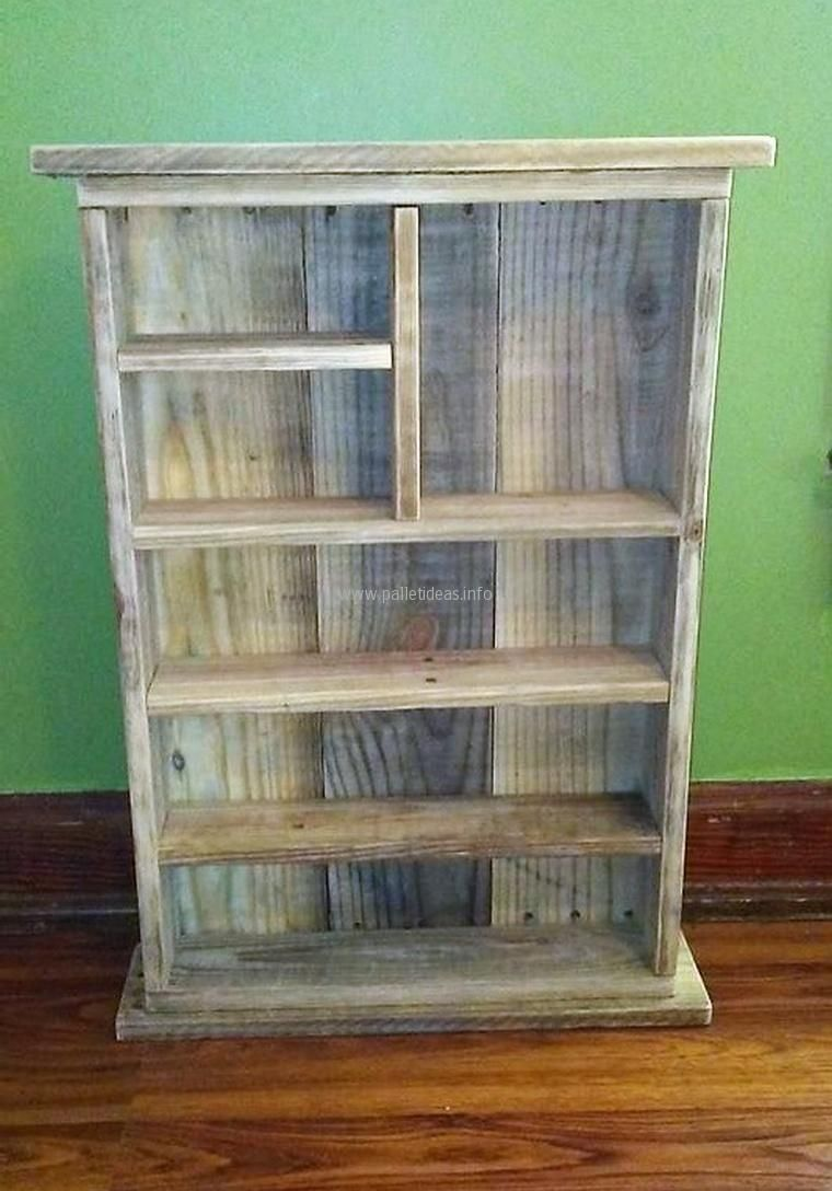 Pallet Shelving Cabinet For Kitchen Spices