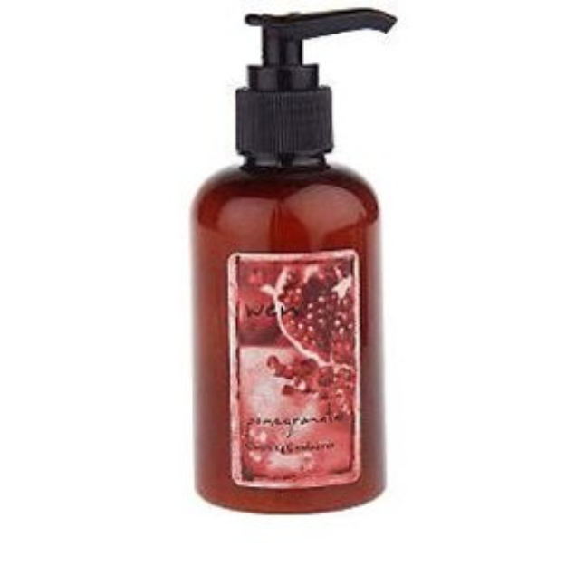 I'm learning all about WEN Pomegranate Cleansing