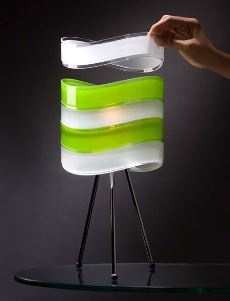 Again this is a modern lamp design They are modular lamps by