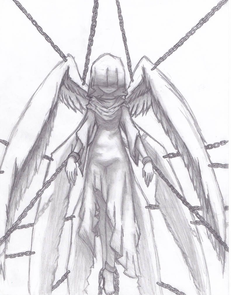 Photo of Chained Angel by annoyingcurse25 on DeviantArt