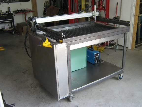 Astounding New 2 X 4 Plasma Cutter With Down Draft Table Cnczone Com Home Interior And Landscaping Elinuenasavecom