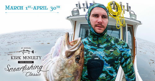 SoCal Spearfishing Tournament: The Kirk McNulty White Seabass Classic