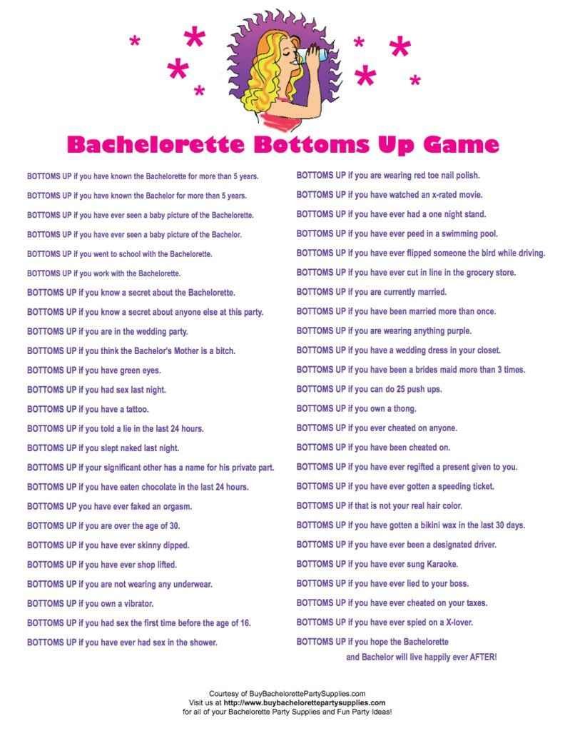Divine image regarding printable bachelorette party games