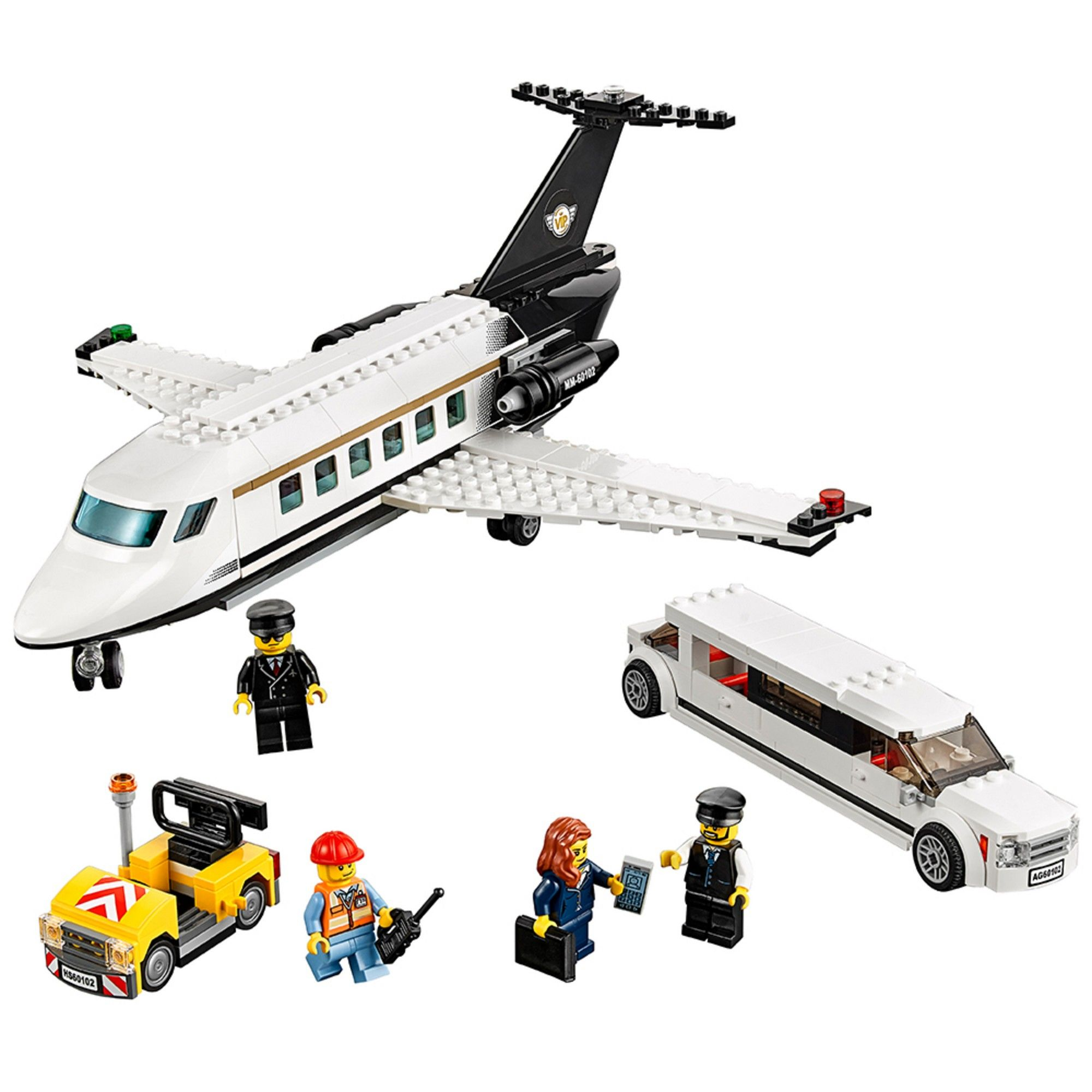 LEGO City Airport VIP Service 60102 airplane
