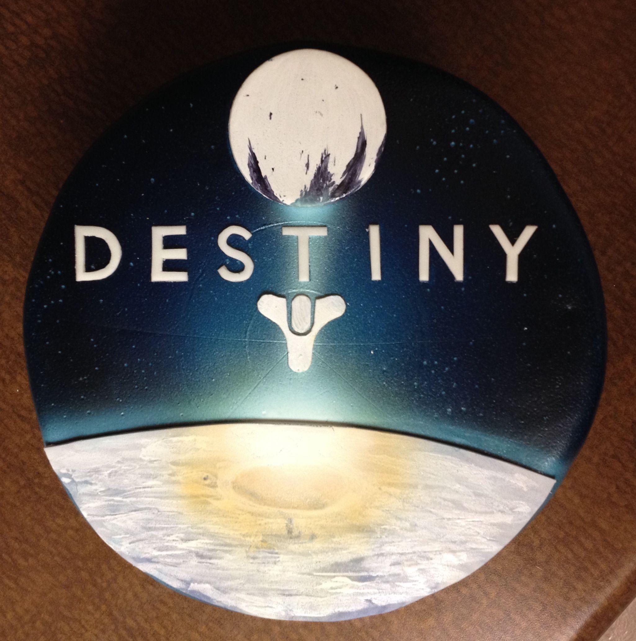 Destiny video game birthday cake Whimsy Cakes Pinterest