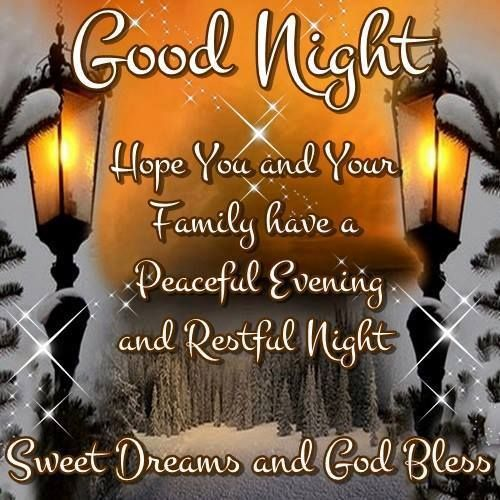 Good Night Sweet Dreams And God Bless Good Night Blessings Good Night Sweet Dreams Good Night Prayer