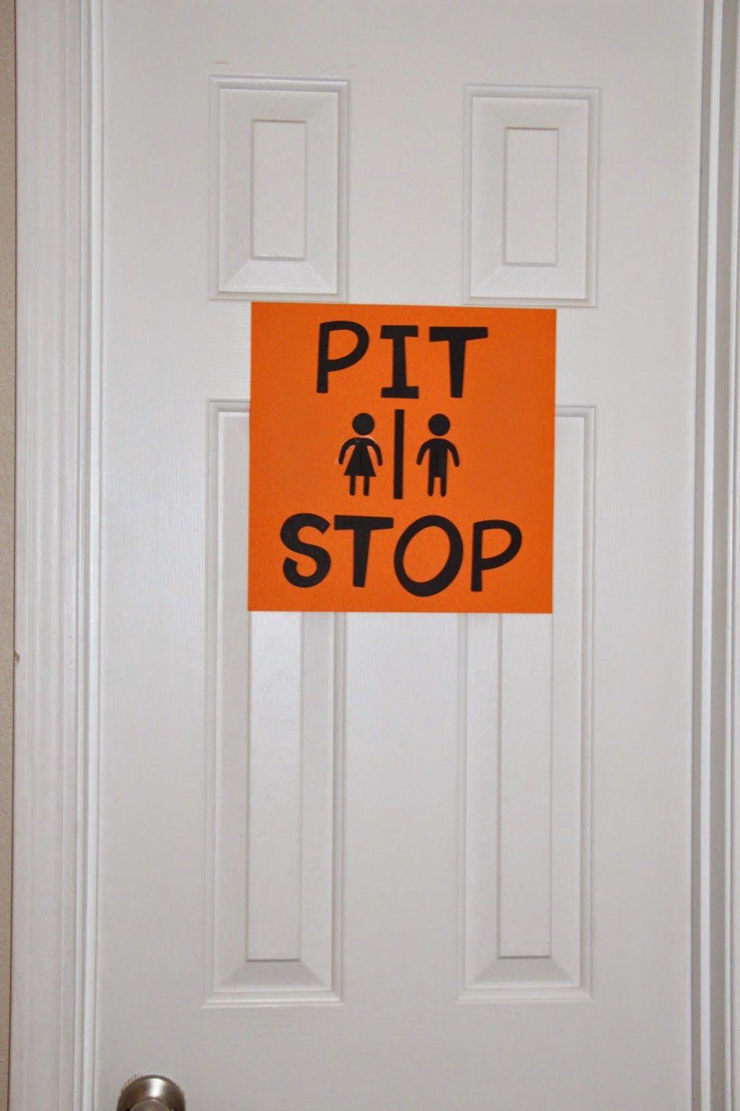 Fun Bathroom Signs