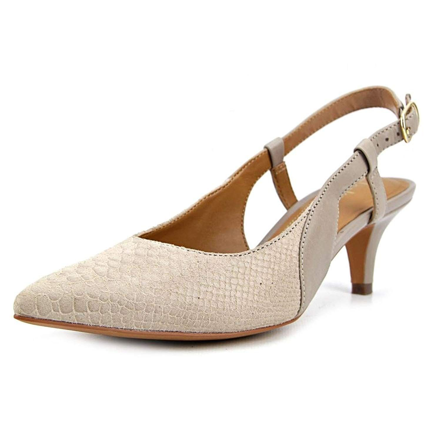 Clarks Womens Sage Ursa Pointed Toe Slingback D Orsay Pumps From Work To Weekend Gatherings These Kitten Heel Pumps By C Womens Shoes Pumps Girls Shoes Heels