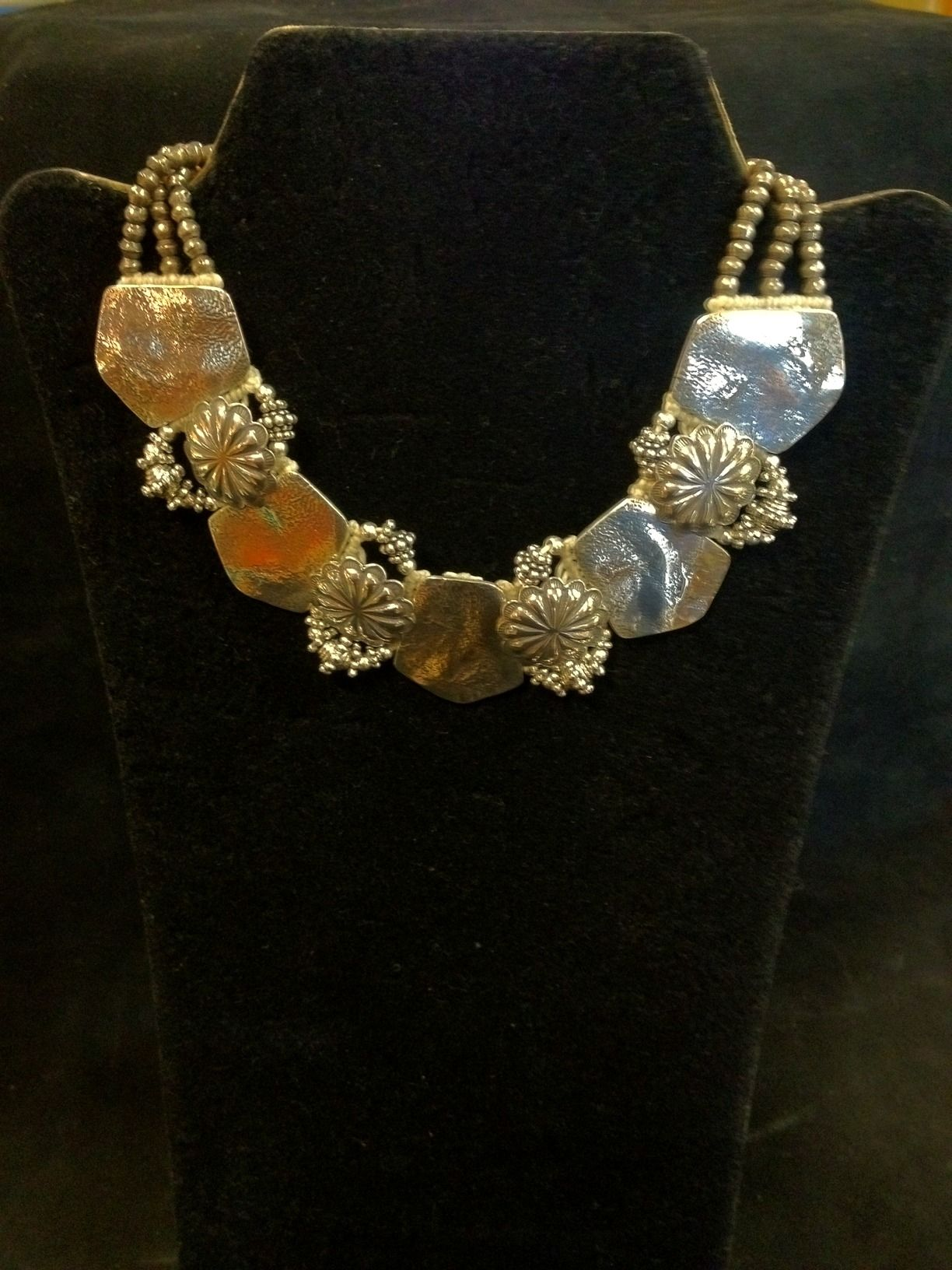"""Sterling Silver 18"""" Silver Shield Necklace"""