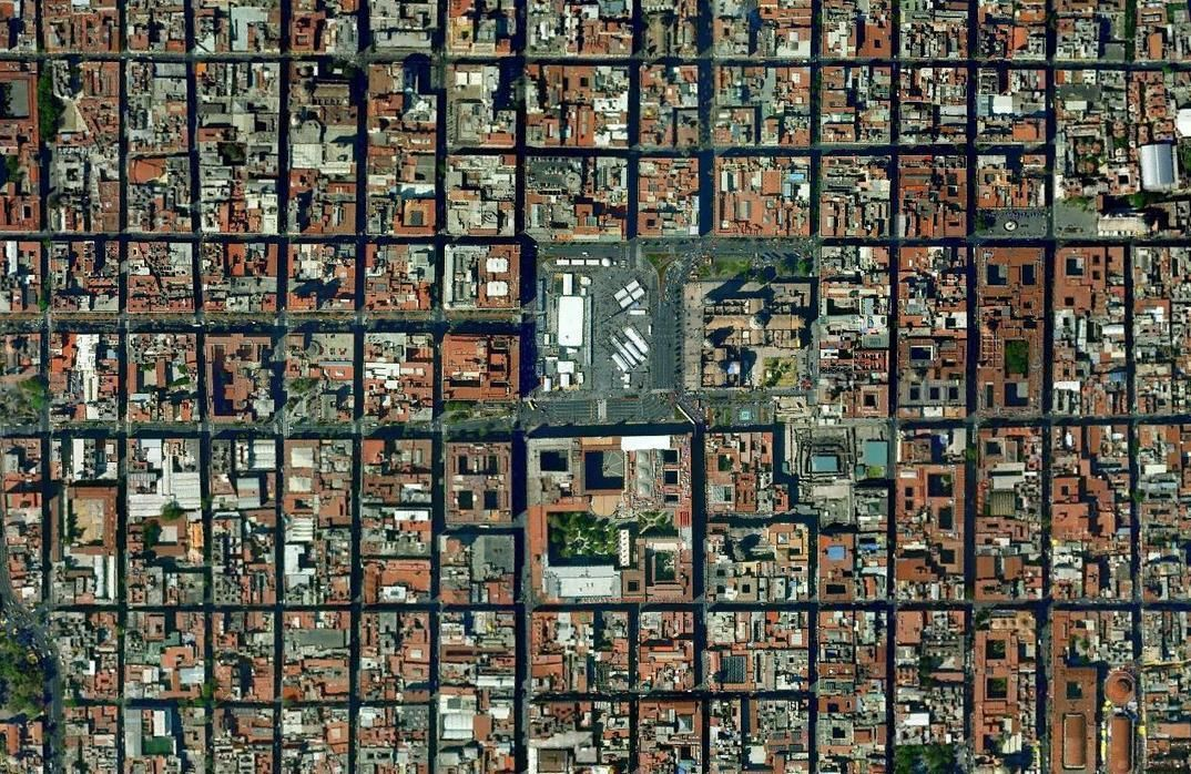 Urban Morphology In Mexico City With Images Urban Planning