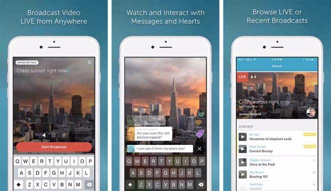 Live Video Broadcast App Periscope Gets Permanent Save Feature Periscope App Periscope Live Streaming App
