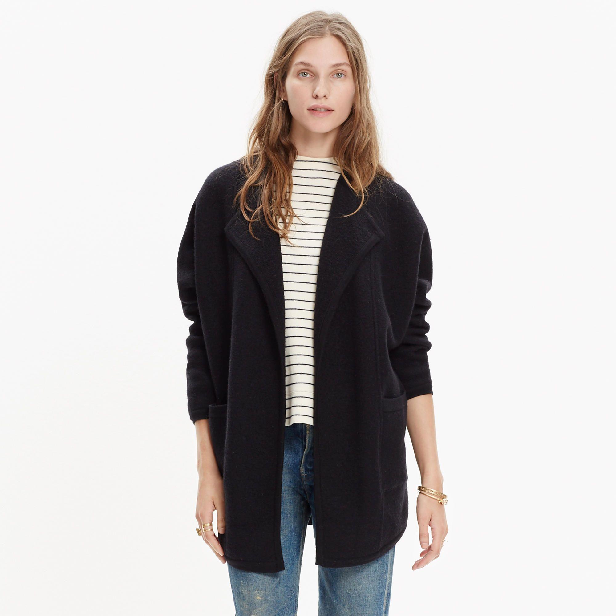 Oversized Sweater-Jacket : jackets | Madewell | Fall Fashion ...