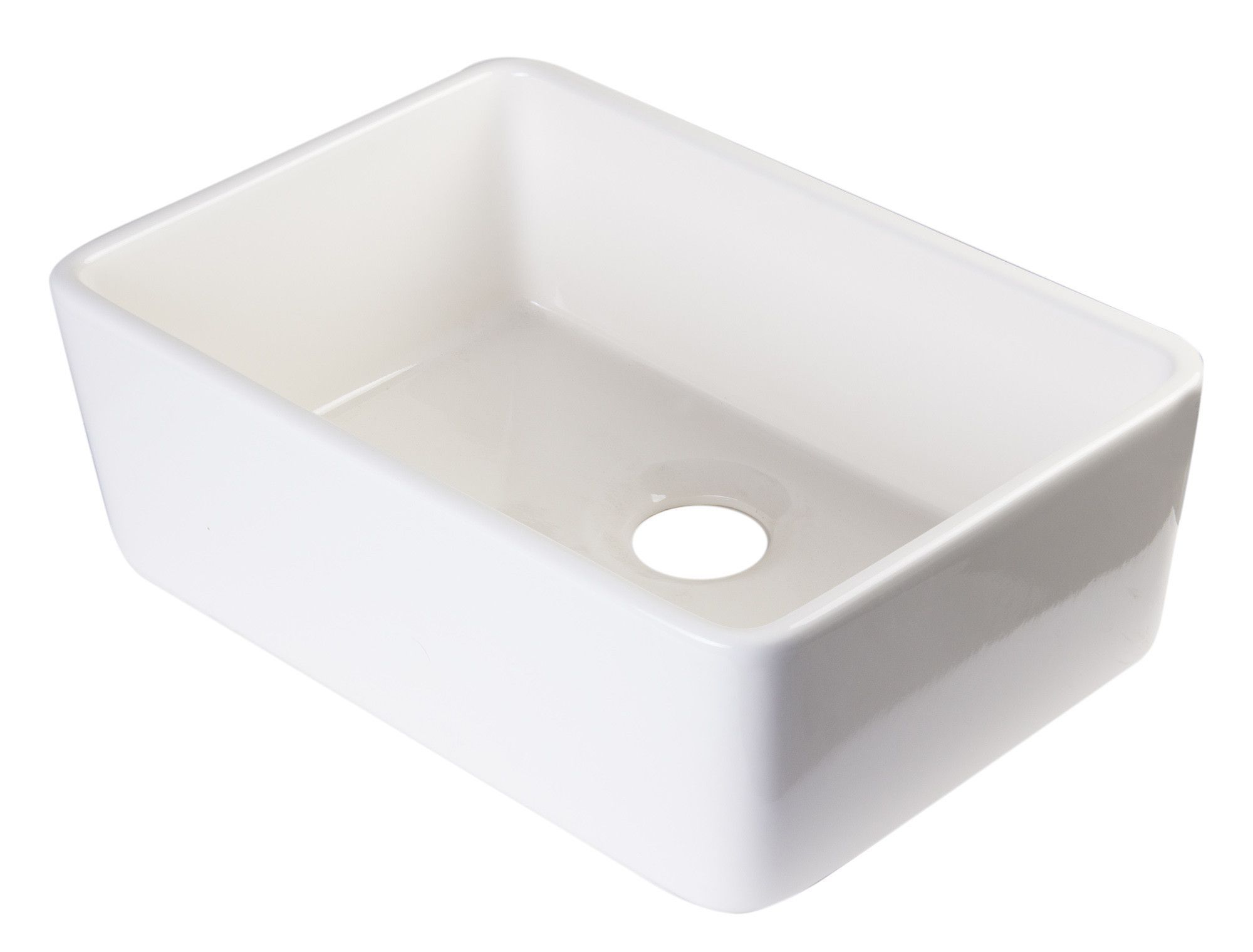 Farmhouse Apron Kitchen Sinks Alfi Brand Ab503 Fireclay 23 Single Bowl Farmhouse Apron Kitchen