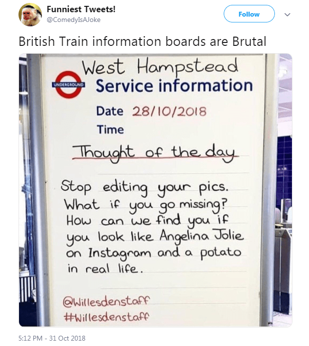 Here Are 15 Tweets By British People That Cracked Us Up This Week (November 9th, 2018)