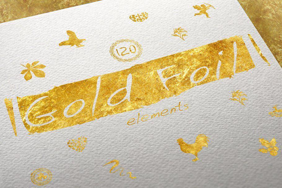 120 Gold Foil Elements + Free Bonus