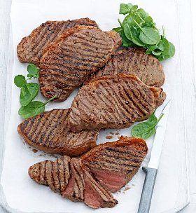 4 Aberdeen Angus Sirloin Steaks | Food, Bbq party food