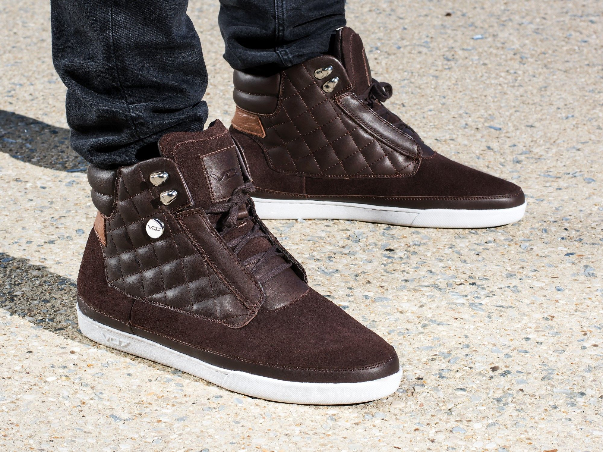 VO7 Falcon Leather Brown | Sneakers fashion, Leather, Top ...