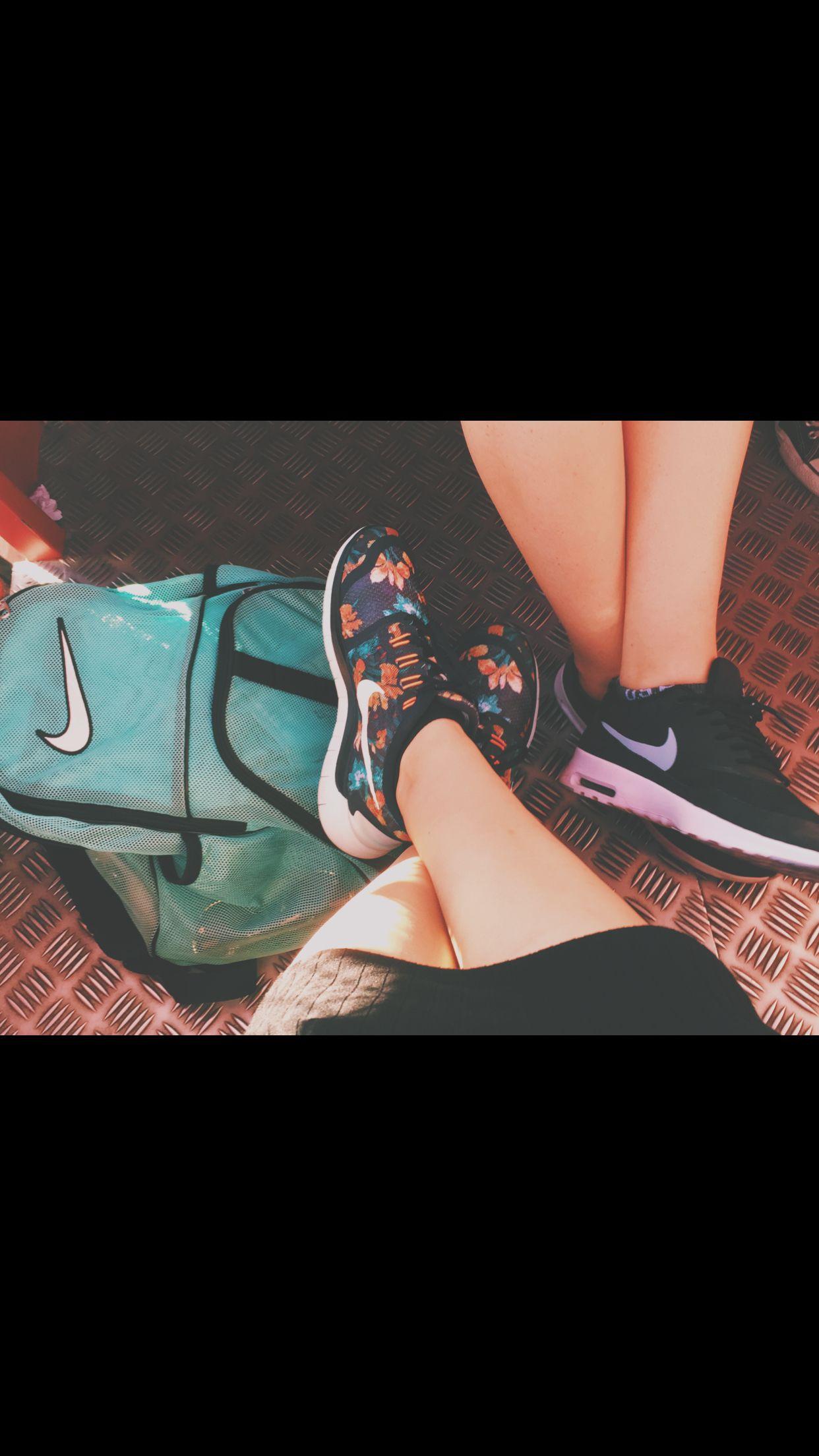 Nikes at Disneyland