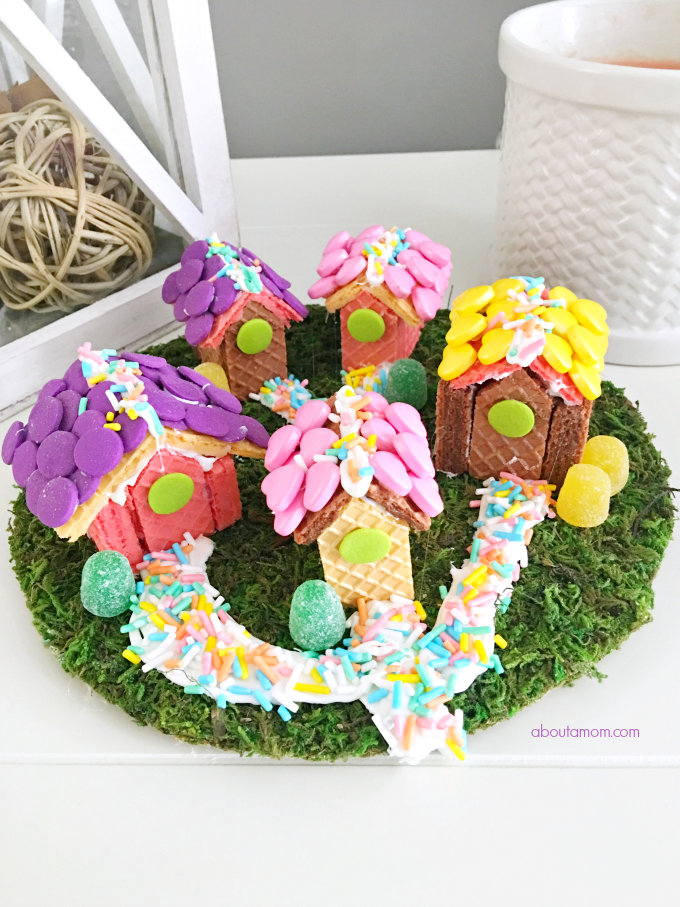 Inspired By Voortman Wafer Cookie Village Diy And Crafts For Kids