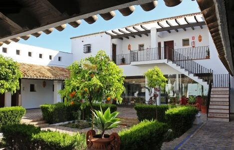 typical Andalusian hotel