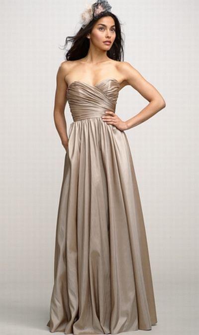 Watters 2736 Ercup Luminescent Taffeta Bridesmaid Gown 259 99