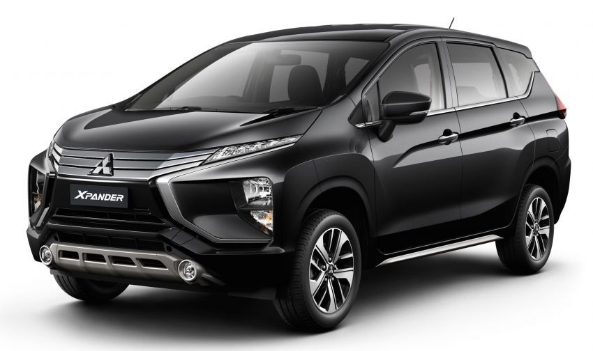 Mitsubishi Xpander Mpv Now In Thailand Imported Cbu From