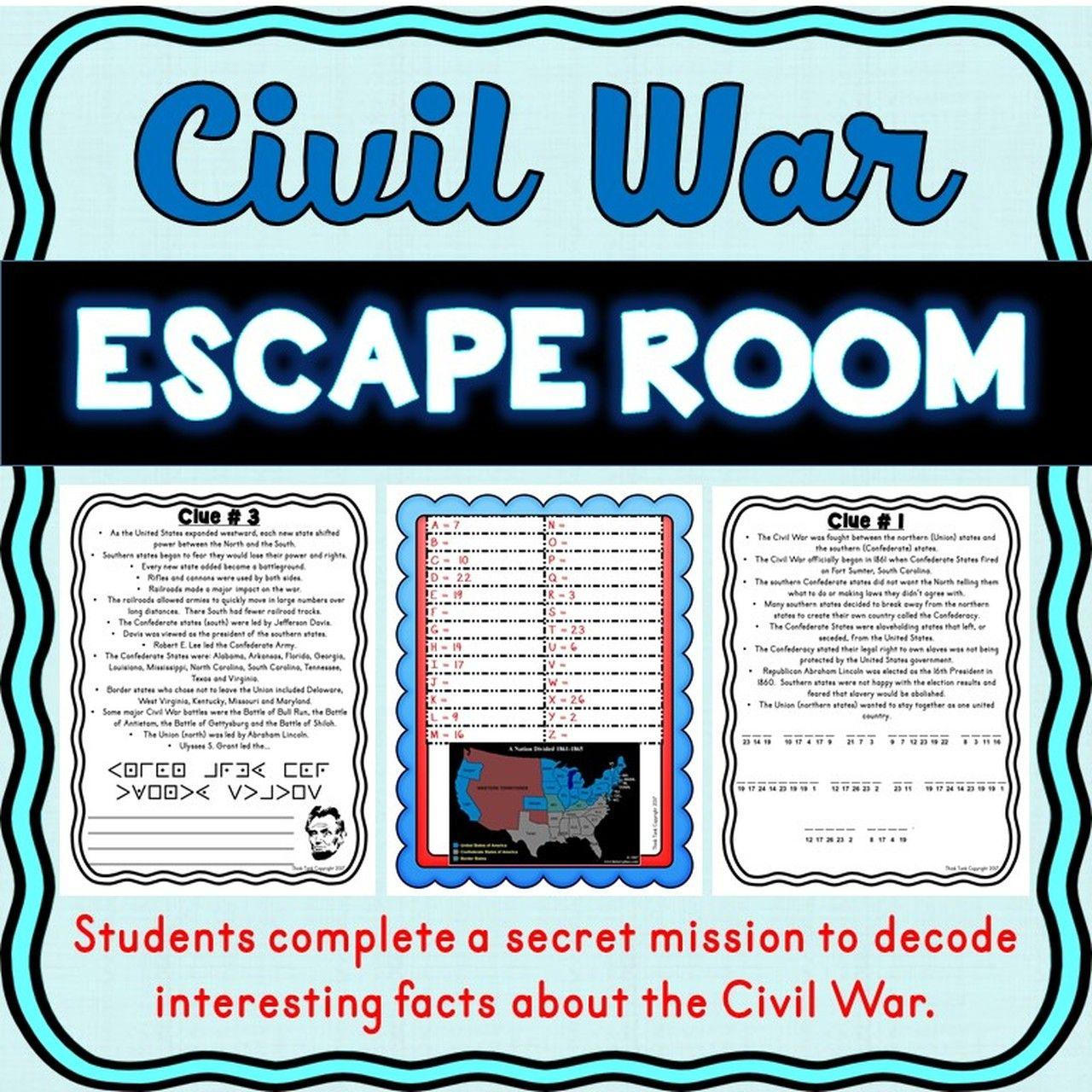 Pin On Civil War Literacy