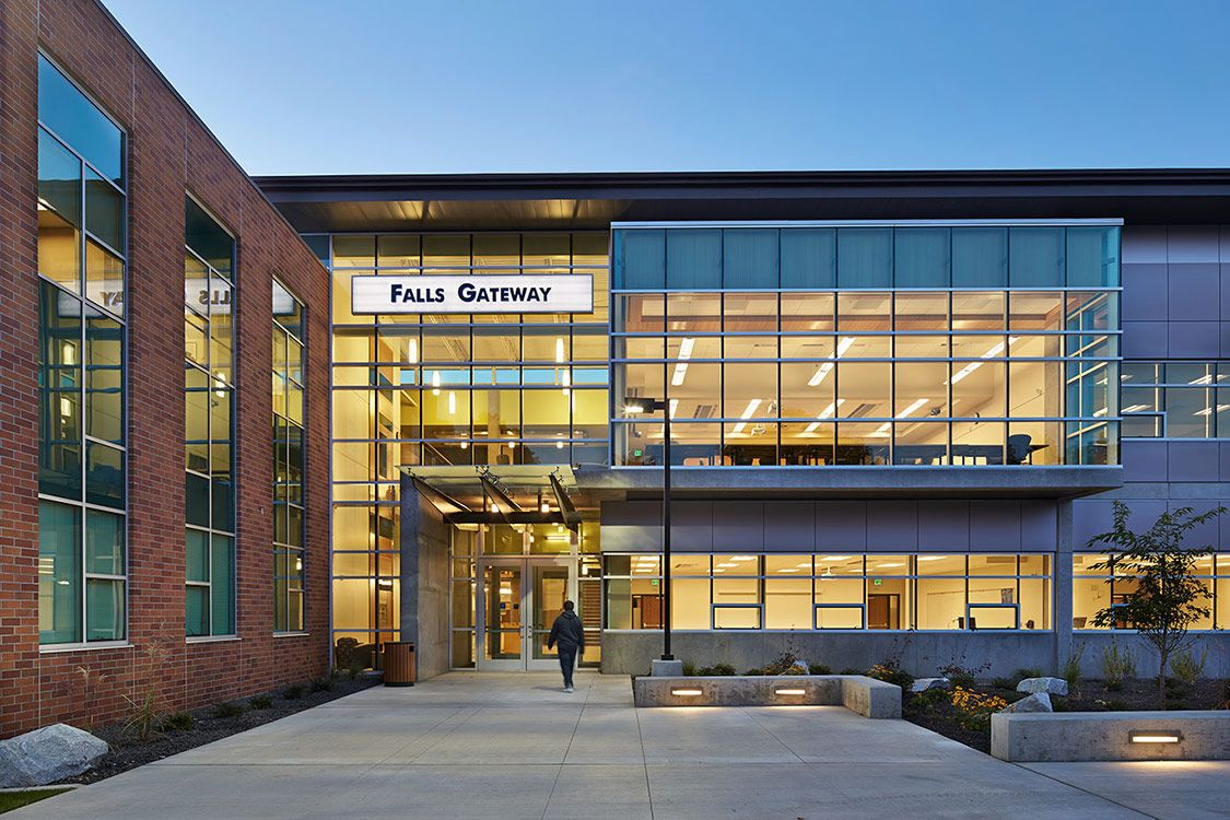 Falls Gateway Building, Spokane Falls Community College