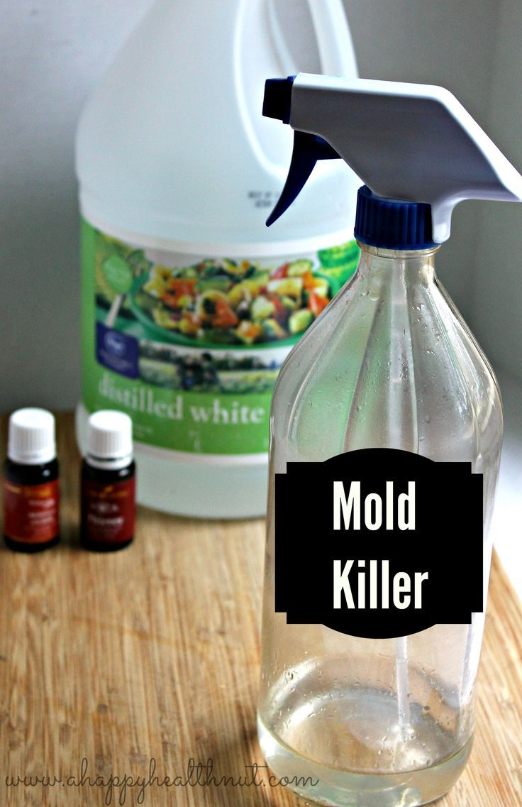 This powerful DIY Mold Removing Spray made using all natural
