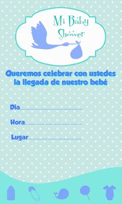 Invitaciones Para Baby Shower Gratis Para Descargar : invitaciones, shower, gratis, descargar, Fiestas, Personalizadas, Imprimibles:, Tarjetas, Invitacion, Editables, Shower-Descarga, Gratis, Shower,