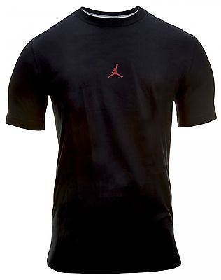 c23c215916eae9 JORDAN Jumpman Tee 323729-010 Mens BLACK CLOTHING SZ-S