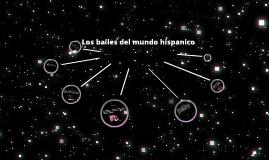 dances of Spanish speaking countries