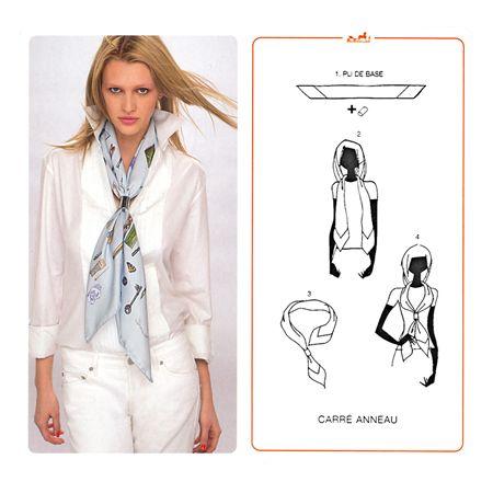 Tanti modi creativi di indossare il foulard (foto)   Foulard ... 3d11887e99d