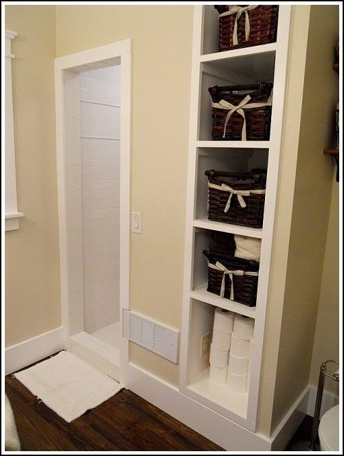 No Linen Closet For