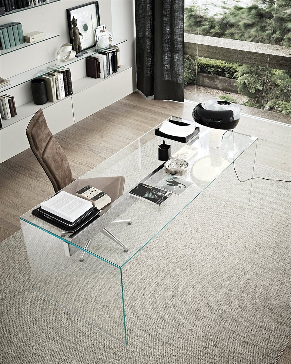 Air Desk Glass Desk Office Home Office Table Home Office Design